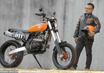Modifikasi Scrambler Ubah Total Kawasaki KLX 150