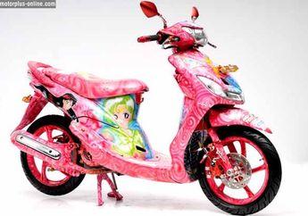 Modifikasi Yamaha Mio 2009 Medan, Terinspirasi dari Sailormoon dan Aura Valentine