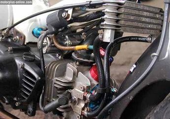 Oil Cooler Punya Suzuki Satria F-150 Jadi Perangkat Andalan
