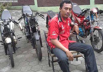Permadi Pembina Dragbiker, Lebih Doyan Pakai Motor 2-tak Karena Tak Sulit Disetup