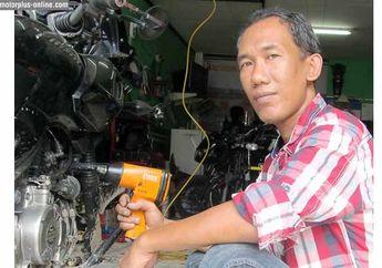 Bang Doel, Spesialis Bengkel Bajaj Dengan Pelayanan Servis Sekaligus Modif