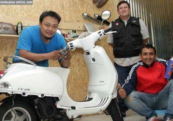 MAD Work's (Motorcycle Art Development), Spesialis Vespa Modern Yang Maksimalkan Part Orisinil