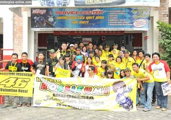 Rossifumi Indonesia, Fans VR 46 Goes to Jogja
