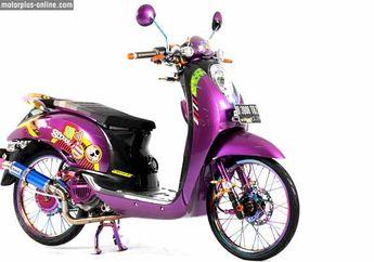 Modifikasi Honda Scoopy 2012 Jakarta, Selera Wanita Taste-nya Berbeda!