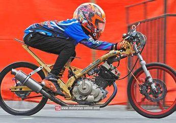 Suzuki Satria F 150 Drag Bike Kompresi 15,2 Untuk Joki Imut