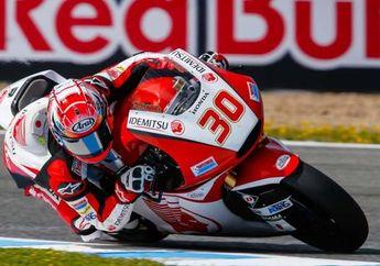 Takaaki Nakagami Start Terdepan di Moto2 Jerman