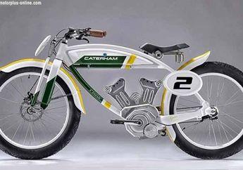 Sepeda Listrik Retro dari Caterham, Namanya Classic E-Bike Bisa Gowes dan Pakai Motor Listrik