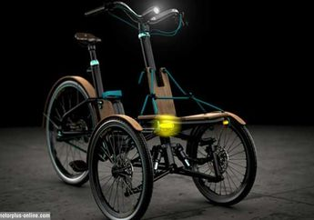 KAYLAD-e Trike, Komuter Perkotaan Bisa Manfaatkan Lean Angle