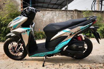 Modif Simpel Begini Aja Bikin Honda Vario 150 Makin Kece