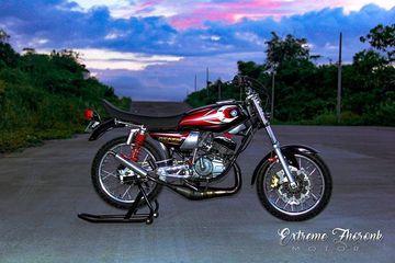 Modifikasi Yamaha Rx King Habiskan Puluhan Juta Ubahan
