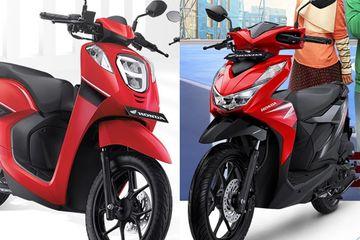 Harganya Selisih Sejutaan Apa Sih Bedanya Honda Beat Dengan Genio Motorplus