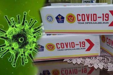 Obat Covid-19 yang dikembangkan oleh Badan Intelejen Negara (BIN) dan tim Universitas Airlangga Surabaya.