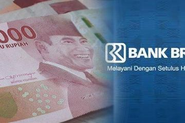 Ilustrasi pinjaman uang dari bank BRI