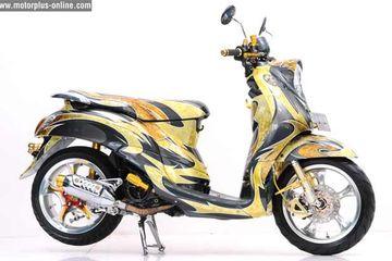 15+ Modifikasi Motor Mio Sporty Warna Hijau, Trend Terbaru