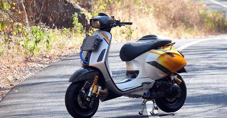 Gak Mau Nanggung, Modifikasi Vespa Sprint Telan Dana Rp 250 Juta, Mesinnya Pakai GTS 250