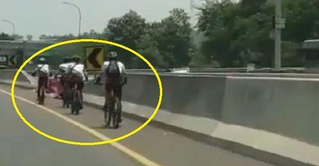 Viral Video Rombongan Pesepeda Masuk Tol, Begini Kata Polisi