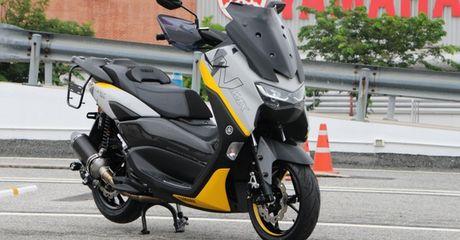 Modifikasi All New NMAX, Grafis Bodi Menarik, Aksesoris Bikin Siap Touring