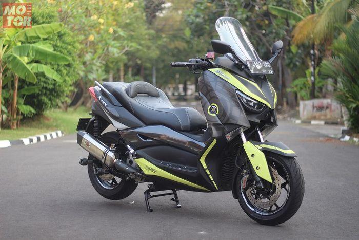 Modifikasi Yamaha XMAX 2017 Besutan Rubeng Kenceng