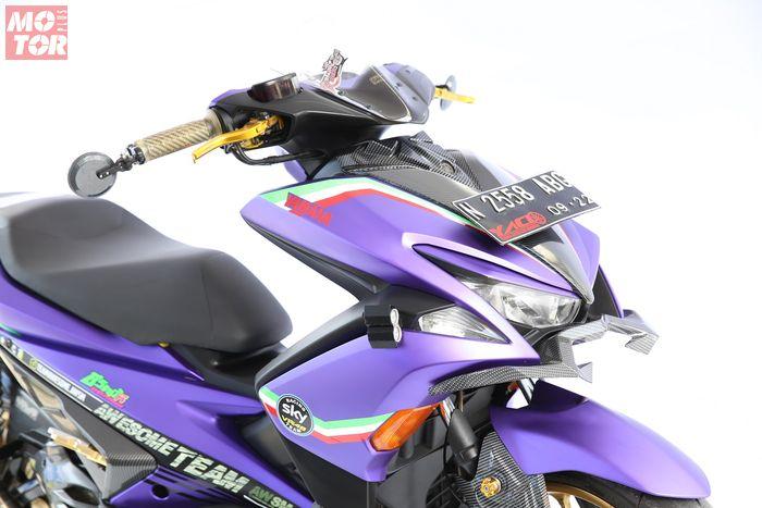 Yamaha Aerox pemenang kelas Daily Use Customaxi Surabaya