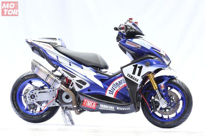 Yamaha Aerox pemenang king of customaxi Yamaha 2018/2019
