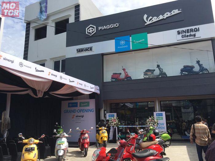 Piaggio Indonesia resmikan dealer pertamanya di tahun 2019 berlokasi di Ciledug