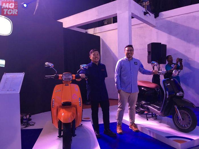 PT Scooter Motor Indonesia (SMI) menjadi authorized distributor untuk Lambretta di Indonesia