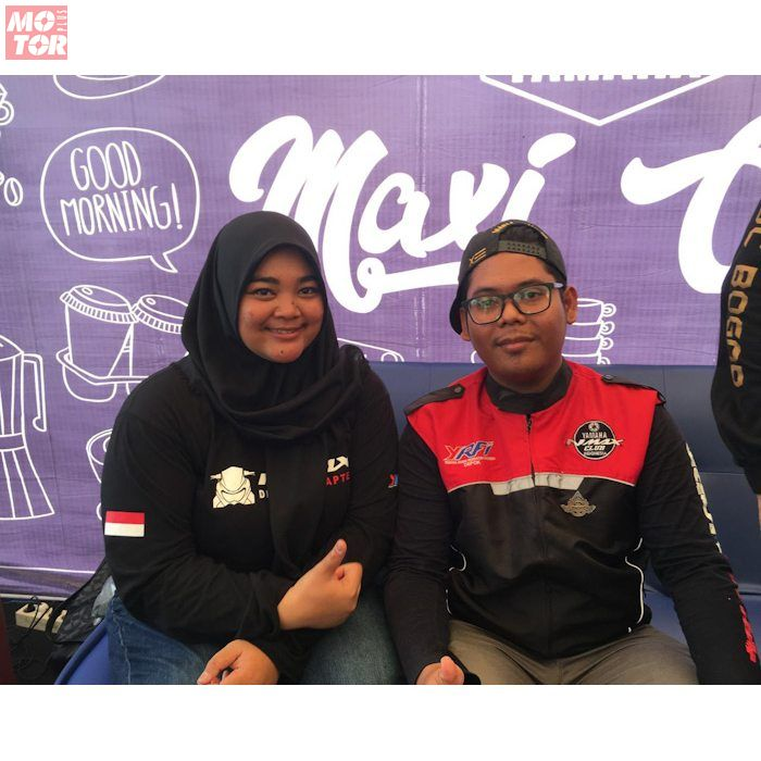 Anggota YNCI ikut hadir di Maxi Yamaha Day sembari sumbang usulan buat NMAX Facelift sesuai kepengin pengguna setia NMAX