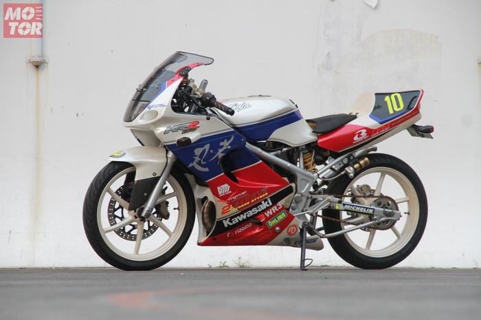 Back to 90s jadi konsep Kawasaki Ninja 150RR milik Wandy