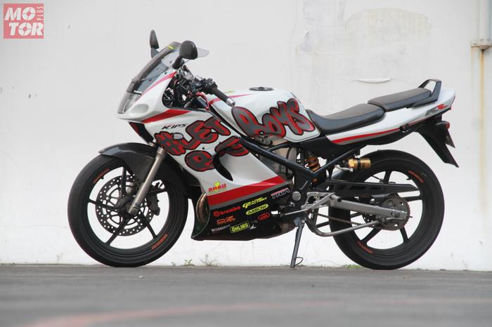 Kawasaki Ninja 150 Rr Modifikasi Hedon Peleknya Aja Oz Racing Rp 30 Juta Motorplus
