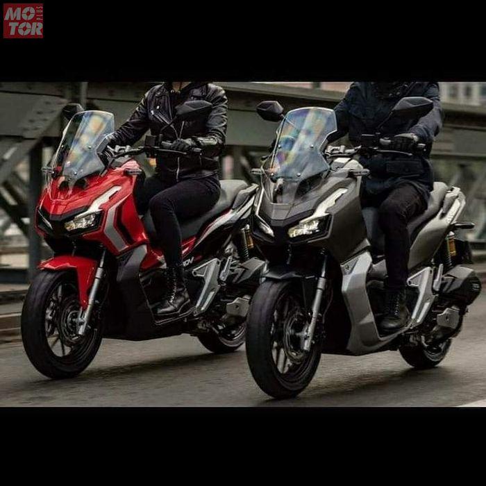 Honda X-ADV 150 yang dikenalkan di Indonesia merupakan adik dari Honda X-ADV 705 di Eropa