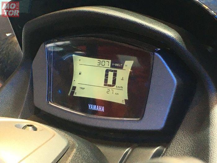 Speedometer Yamaha NMAX terbaru, bisa terkoneksi dengan ponsel