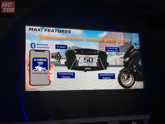 Fitur canggih All New Yamaha NMAX