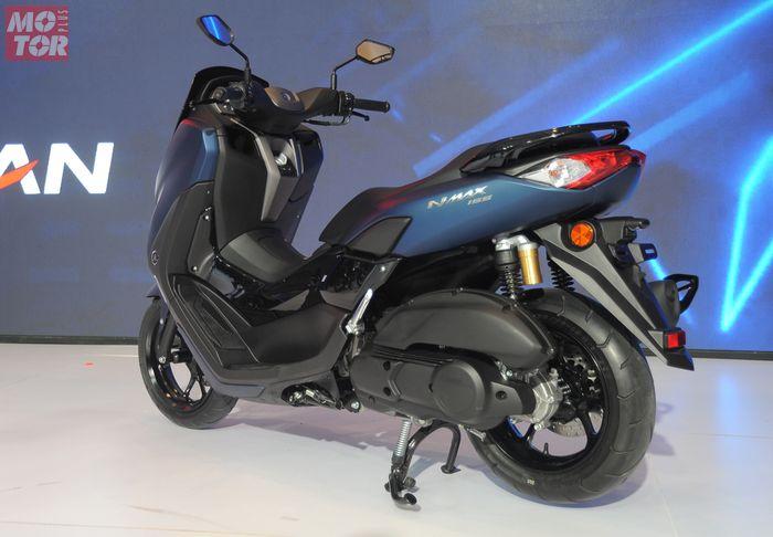 Sokbreker belakang Yamaha All New NMAX ternyata bisa diseting
