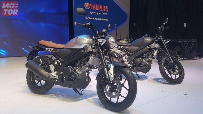 Yamaha All New XSR 155 warna baru di ajang CUSTOMAXI YAMAHA x YAMAHA HERITAGE BUILT