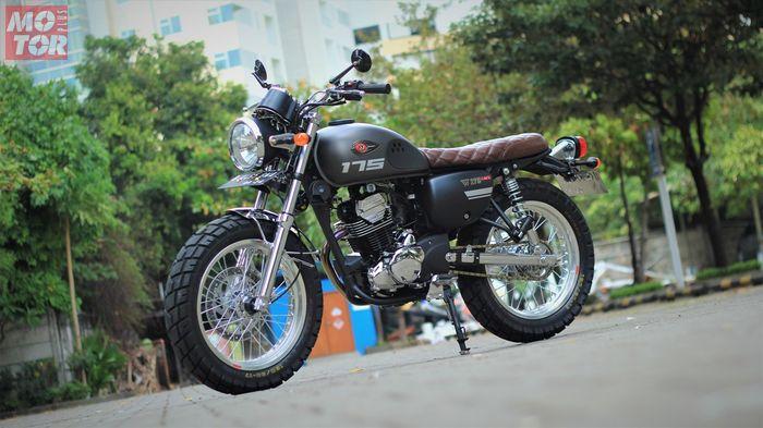 Modifikasi Kawasaki W175