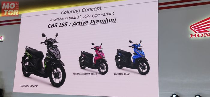 Pilihan warna All New Honda BeAT CBS-ISS.