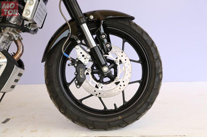Ubahan simpel Yamaha XSR 155 kelas Heritage Bekasi