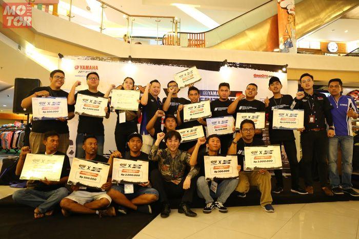 Pemenang Customaxi x Yamaha Heritage Built Denpasar 2020