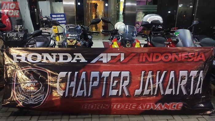 Honda ADV Indonesia datang ke Kompas Gramedia pada Jumat (14/2).