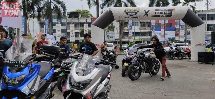 Customaxi Yamaha x Heritage Built 2020 Digelar di Medan