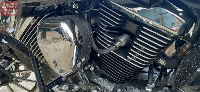 Dua Silinder hear berjejeran salah satu ciri khas mesin V Twin