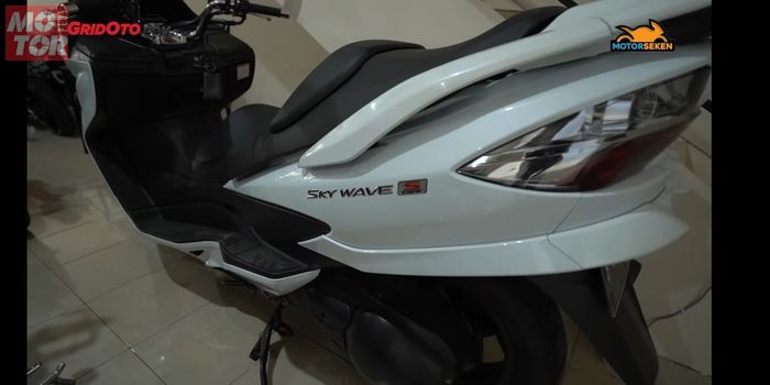 Suzuki Skywave 250 di Jakarta Motorsport