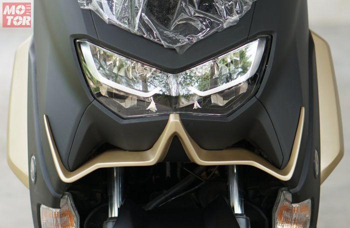 Pasang winglet custom di Yamaha All New NMAX garapan Lent Automodified