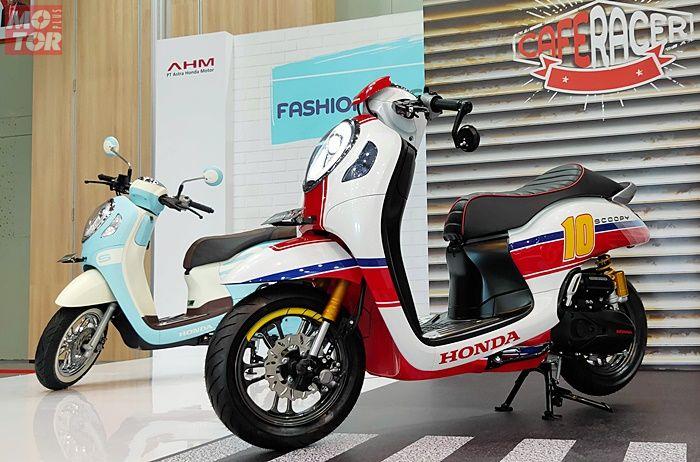 All New Honda Scoopy 2020 jadi cafe racer