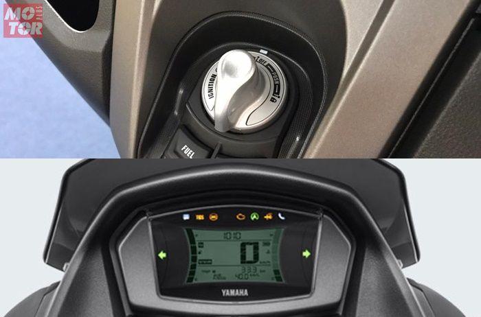 Yamaha NMAX 155 Connected Standard Upgrade pakai keyless dan Y-Connect