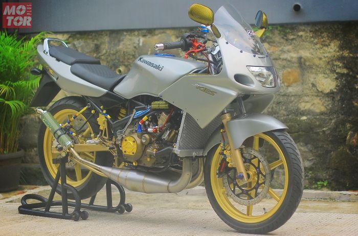 Kawasaki Ninja 150 R pakai mesin 2 silinder berkapasitas 298 cc