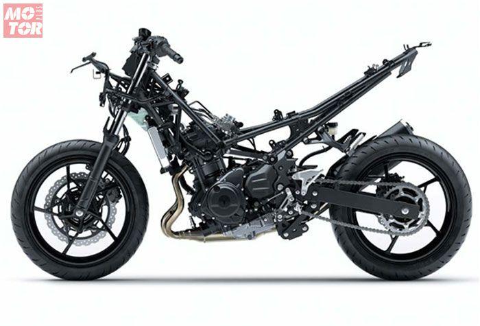 Rangka Kawasaki Ninja 250