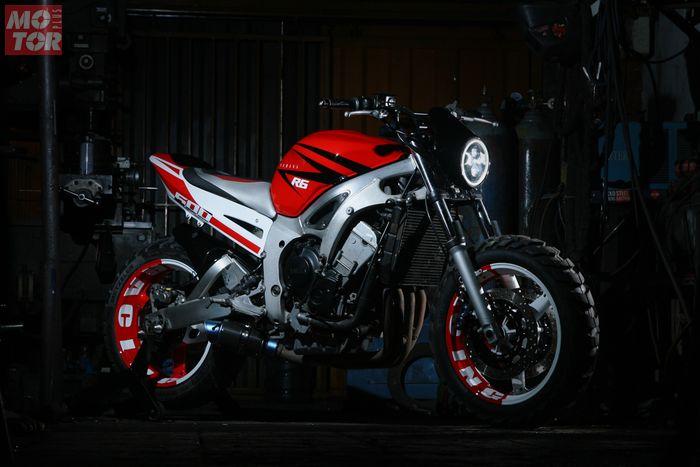 Yamaha R6 Scrambler CCI