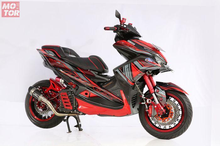 Yamaha Aerox 155 Best Racing Customaxi Balikpapan