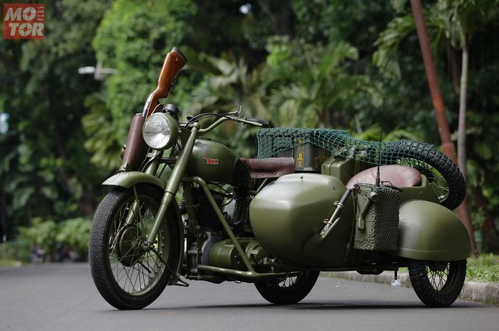 BSA M20 Army Look.